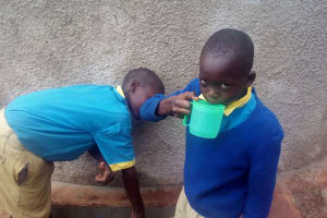 The Water Project: Ematsuli Primary School -  Clean Water