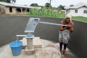 The Water Project: Benke Community, Brima Lane -  Successful Installation