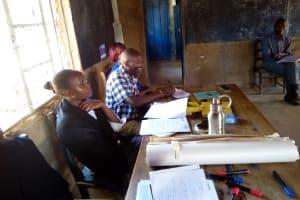 The Water Project: Kakubudu Primary School -  Teachers Attending Training
