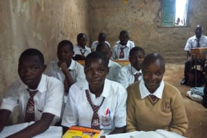 The Water Project: Shiyabo Secondary School -  Students In Class