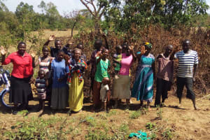 The Water Project: Shitoto Community, Abraham Spring -  Training Participants