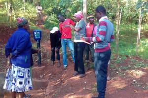 The Water Project: Wanzuma Community, Wanzuma Spring -  Training