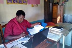 The Water Project: Eregi Mixed Primary School -  Headteacher Of Eregi Primary