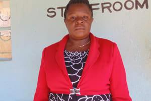 The Water Project: Friends Emanda Secondary School -  Principal Mary Megengeya