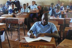 The Water Project: Ebubayi Secondary School -  Students In Class
