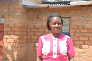 The Water Project: Kaani Community C -  Household Mbithe Nzomo