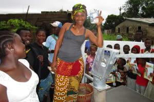 The Water Project: Benke Community, Brima Lane -  Clean Water Celebration