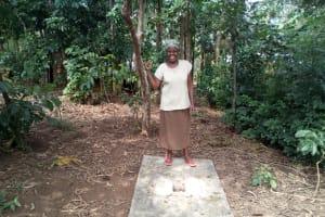The Water Project: Handidi Community, Malezi Spring -  Sanitation Platform