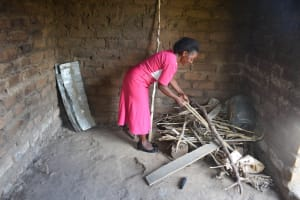 The Water Project: Kaani Community B -  Household Kitchen