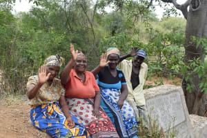 The Water Project: Waita Community -  Finished Sand Dam