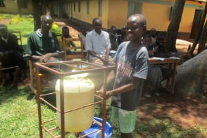 The Water Project: Mukhombe Primary School -  Hand Washing