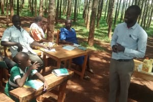 The Water Project: Ebukanga Primary School -  Training