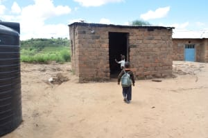 The Water Project: Kaani Community B -  Household Kids Home From School