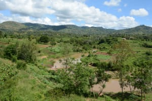 The Water Project: Kaani Community E -  First Sand Dam