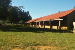 The Water Project: Eregi Mixed Primary School -  School Grounds
