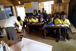 The Water Project: Kakubudu Primary School -  Hand Washing