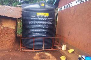 The Water Project: Mwiyenga Primary School -  The Liter Plastic Tank
