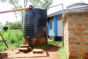 The Water Project: Ebubayi Secondary School -  Plastic Tank