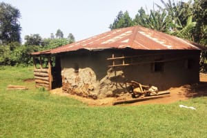 The Water Project: Hondolo Community, Musila Spring -  Household
