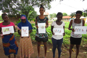 The Water Project: Benke Community, Turay Street -  Good And Bad Practices