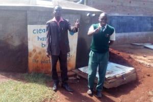 The Water Project: Ebwiranyi Secondary School Rainwater Catchment Project -
