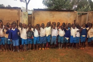 The Water Project: Mwiyenga Primary School -  Boys At Their Latrines