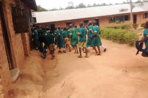 The Water Project: Buhunyilu Primary School -  Rush To Class