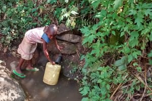 The Water Project: Shitoto Community, Laurence Spring -  Fetching Water