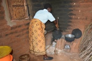 The Water Project: Ngaa Community A -  Household Kitchen