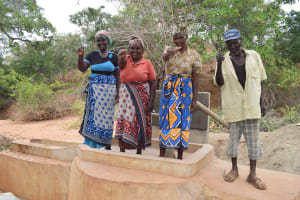 The Water Project: Waita Community A -  Finished Well