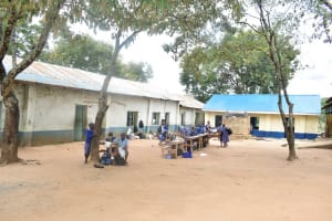 The Water Project: Ngaa Primary School -  School Compound