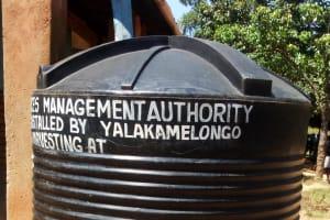 The Water Project: St. Antony Shijiko Primary School -  Plastic Water Tank