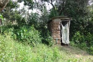 The Water Project: Shitungu Community, Makale Spring -  Latrine