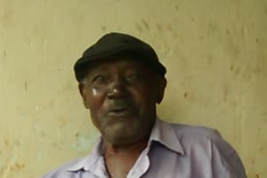 The Water Project: Ebuhando Community, Christopher Omasaba Spring -  Mr Christopher Omasaba