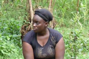 The Water Project: Lugango Community, Lugango Spring -  Mrs Ruth Mulei