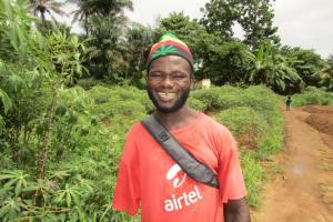 The Water Project: Kitonki Community, War Wounded Camp -  Interview Santigie Kamara