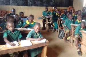 The Water Project: Buhunyilu Primary School -  Students In Class