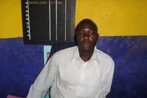 The Water Project: Shiyunzu Primary School -  Mr Angaya John Headteacher