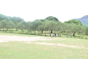 The Water Project: Ngaa Primary School -  Playground