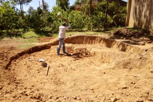 The Water Project: Chief Mutsembe Primary School -  Clearing For Foundation