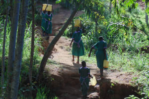 The Water Project: Chandolo Primary School -  The Walk Back To School