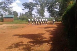 The Water Project: Evojo Secondary School -  Walking Back To School