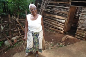 The Water Project: Ebuhando Community, Christopher Omasaba Spring -  Mrs Omasaba