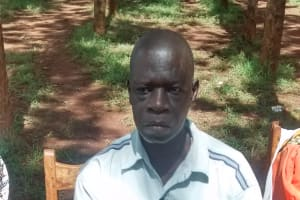 The Water Project: Ebukanga Primary School -  Teacher Solomon Omole
