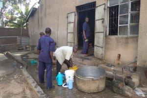 The Water Project: St. Kizito Lusumu Secondary School -  School Kitchen