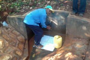 The Water Project: Wanzuma Community, Wanzuma Spring -  Clean Water
