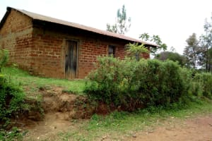 The Water Project: Kakubudu Community, Fred Lagueni Spring -  Church In The Village