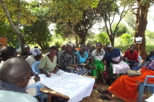 The Water Project: Waita Community A -  Training