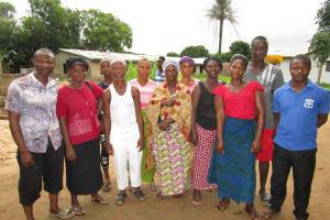 The Water Project: Benke Community, Brima Lane -  Wash Committee