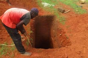 The Water Project: Bishop Sulumeti Girls Secondary School -  Sinking Latrine Pits